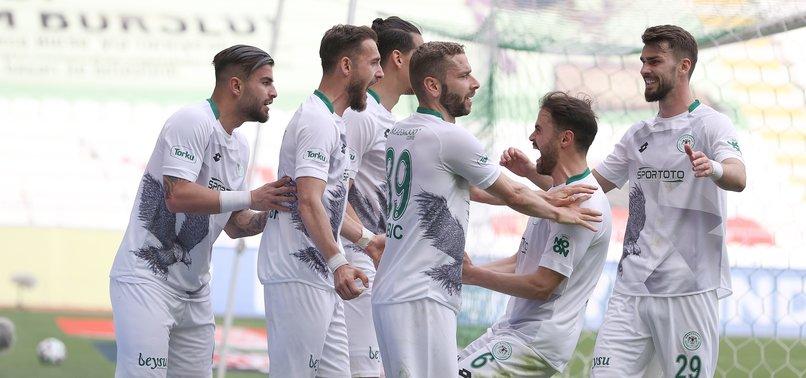 Konyaspor 5 - 1 Fatih Karagümrük (MAÇ SONUCU - ÖZET)