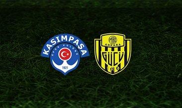 Kasımpaşa - Ankaragücü maçı saat kaçta ve hangi kanalda?