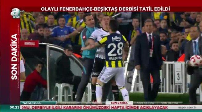 Fenerbahçe: 0 - Beşiktaş: 0 (ÖZET)
