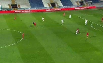 Ümraniyespor 0-1 Akhisarspor (Maç özeti)