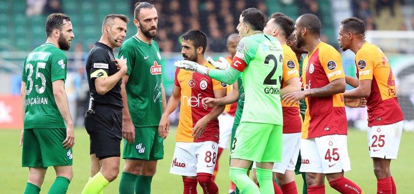 Resmen açıklandı! Rizespor -Galatasaraymaçı tekrarlanacak mı?