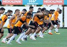 G.Saray, Göztepe maçı hazırlıklarını sürdürdü