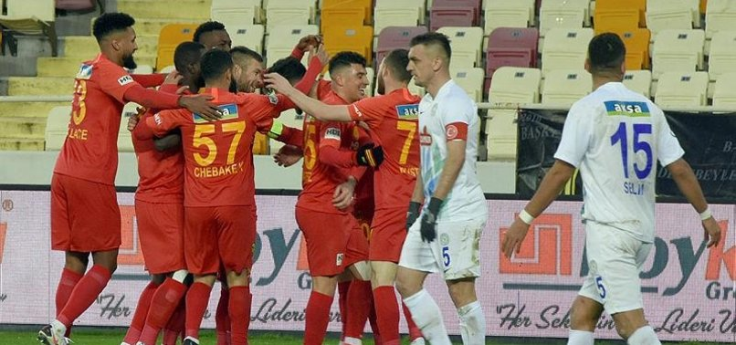 Yeni Malatyaspor 4-1 Çaykur Rizespor (MAÇ SONUCU-ÖZET)