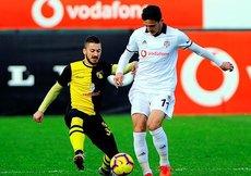 Beşiktaş hazırlık maçında İstanbulsporu devirdi