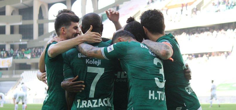Giresunspor 3 - 0 Akhisarspor (MAÇ SONUCU - ÖZET)