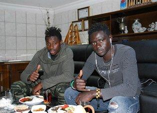Ndiayenin Türkiyeye getirdiği 2 Senegalli Diyarbakırsporda
