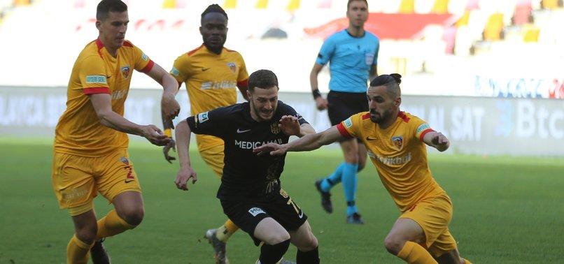 Yeni Malatyaspor 1 - 1 Kayserispor (MAÇ SONUCU - ÖZET)