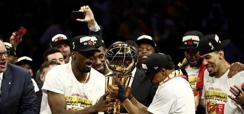 NBA'de şampiyon Toronto Raptors oldu