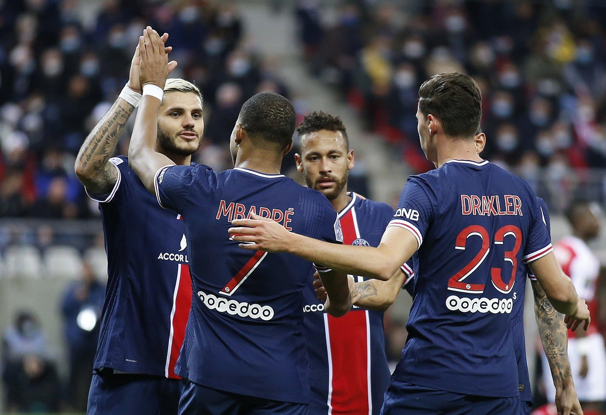 Ligue 1: Reims 0-2 Paris Saint-Germain PSG | MAÇ SONUCU - Aspor