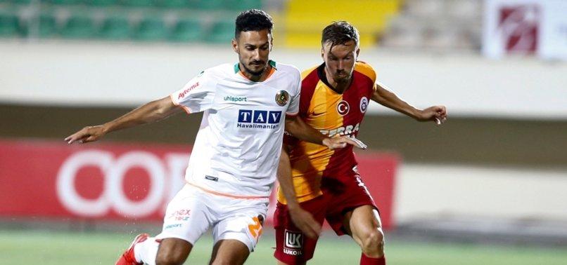 Galatasaray ile Alanyaspor 9. kez karşılaşıyor