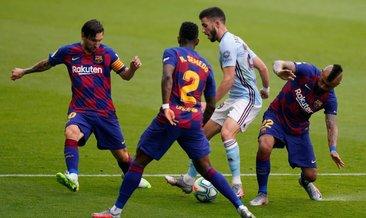 Barça'ya şampiyonluk yarışında ağır darbe!
