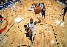 67nci NBA All-Star maçını Jamesin takımı kazandı