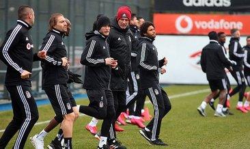 Beşiktaş Trabzonspor hazırlıklarına başladı