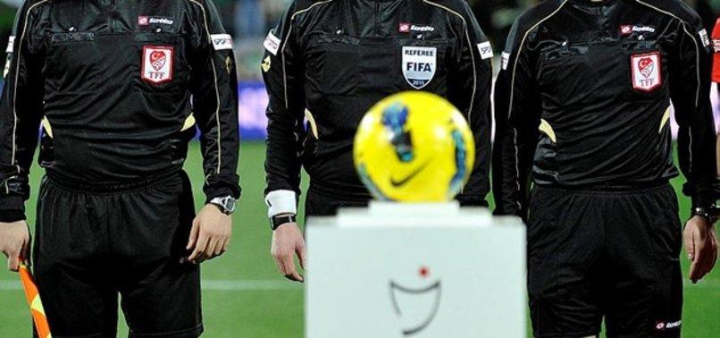 Süper Lig'de 4. haftanın hakemleri belli oldu