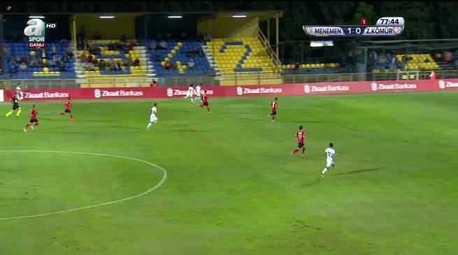 Menemen Belediyespor 2-0 Zonguldak Kömürspor
