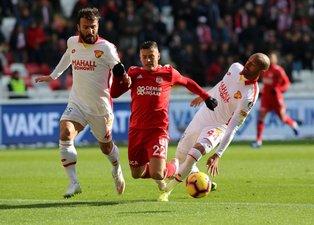 Sivasspor - Göztepe maçından kareler!