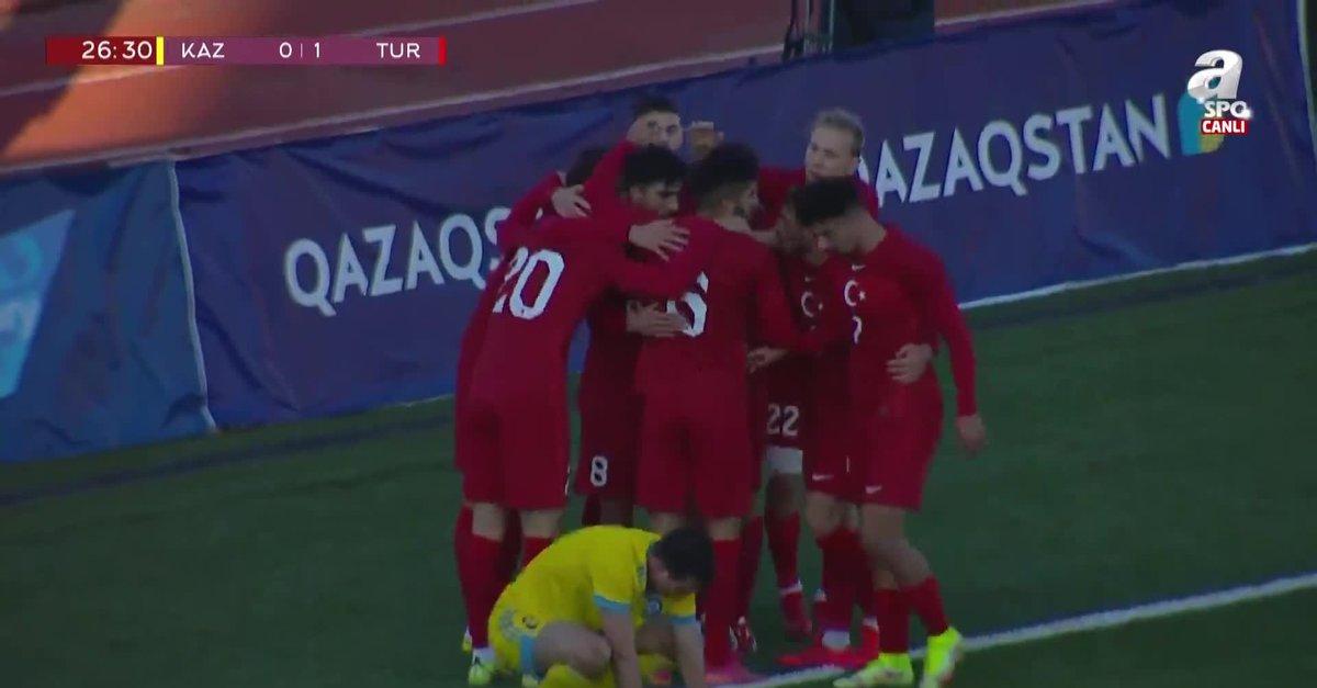 GOL | Kazakistan U21 0-1 Türkiye U21