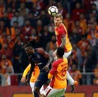 İşte Galatasaray-Başakşehir maçından kareler