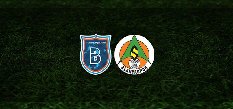 Başakşehir - Alanyaspor maçı CANLI