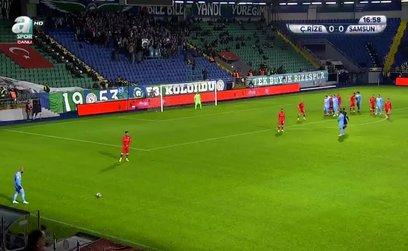 Çaykur Rizespor 1-0 Yılport Samsunspor