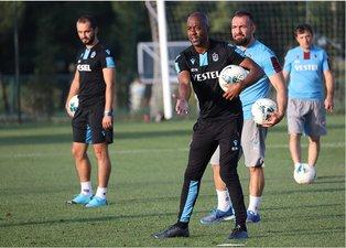Trabzonspor'da Eddie Newton ile ilk idman! İşte antrenmandan kareler
