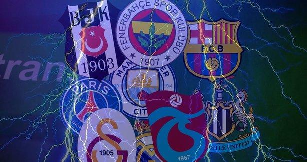 SPOR HABERLERİ - Transferde ortalık karışacak! Beşiktaş, Fenerbahçe, Galatasaray, Trabzonspor ve Avrupa'nın dev kulüpleri...