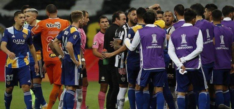 Boca Juniors'ta oyuncular güvenlik güçleriyle çatıştı!