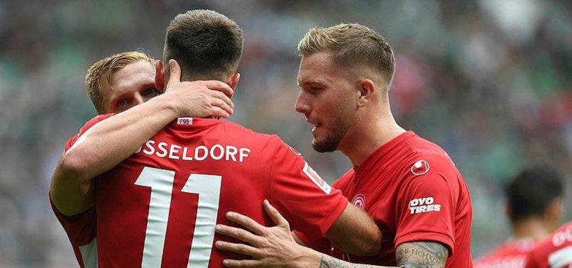 Kenan ve Kaan attı Düsseldorf kazandı