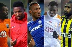 Süper Lig'in unutulmaz Afrikalıları
