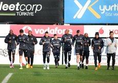 Beşiktaş, F.Bahçe derbisinin hazırlıklarına başladı
