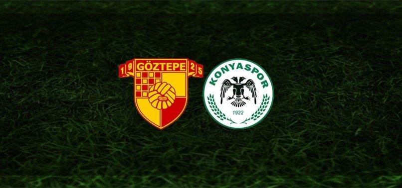 Göztepe - Konyaspor maçı ne zaman, saat kaçta ve hangi kanalda?   Süper Lig