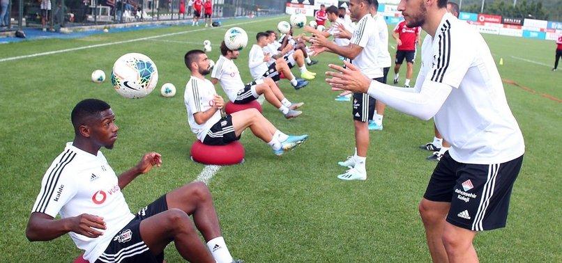 Beşiktaş'ta Gazişehir hazırlıkları sürüyor