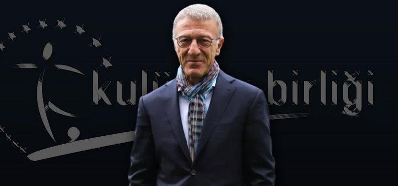 Kulüpler Birliği'nin yeni başkanı Ahmet Ağaoğlu oldu!