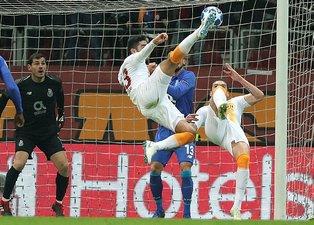 Galatasaray - Porto maçından kareler