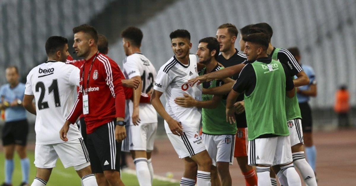 Beşiktaş Panathinaikos maçından kareler