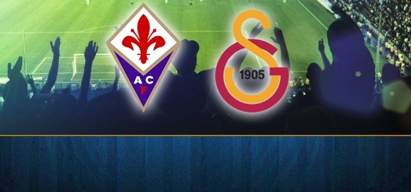 Fiorentina Galatasaray maçı ne zaman saat kaçta hangi kanalda canlı yayınlanacak?