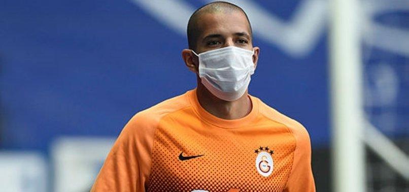 Galatasaray antrenmanında dikkat çeken detay! Sofiane Feghouli...
