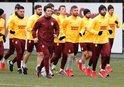 Galatasaray'da Belhanda'sız antrenman!