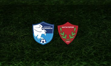 BB Erzurumspor - Hatayspor maçı saat kaçta ve hangi kanalda?