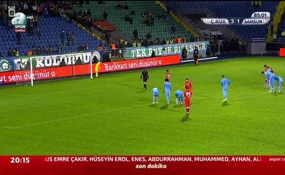 Çaykur Rizespor 3 - 2 Yılport Samsunspor