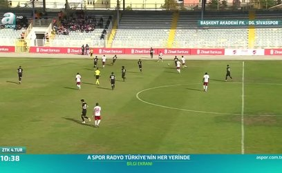 Ba��kent Akademi FK 0-6 DG Sivasspor (ÖZET)