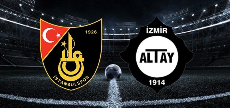 İstanbulspor - Altay maçı saat kaçta ve hangi kanalda?