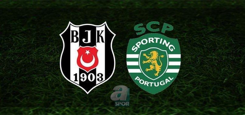 CANLI SKOR | Beşiktaş - Sporting Lizbon maçı ne zaman? Beşiktaş maçı hangi kanalda? Beşiktaş Şampiyonlar Ligi maçı saat kaçta? Bilet fiyatları...