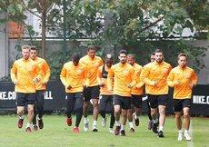 Galatasarayda Erzurumspor maçı hazırlıkları