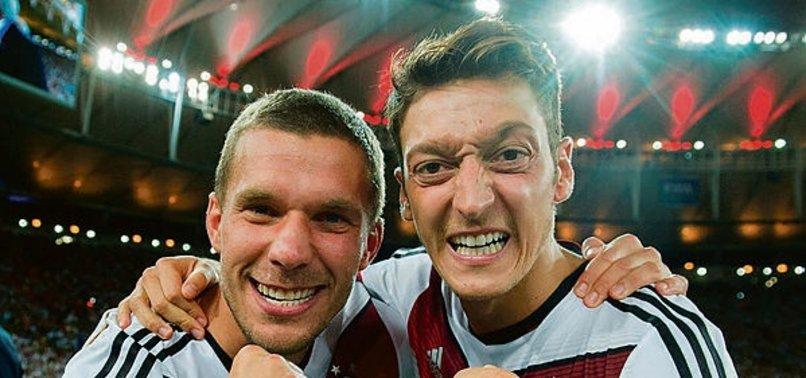 """Lukas Podolski'den Mesut Özil'e destek! """"Kadro dışı kararı haksızlık"""""""