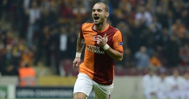 Sneijder Galatasaray'a dönecek mi? Fatih Terim açıkladı