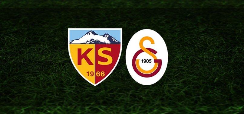 CANLI  Kayserispor – Galatasaray maçı ne zaman? Galatasaray maçı saat kaçta ve hangi kanalda? Muhtemel 11'ler ve eksikler… | GS MAÇI CANLI SKOR
