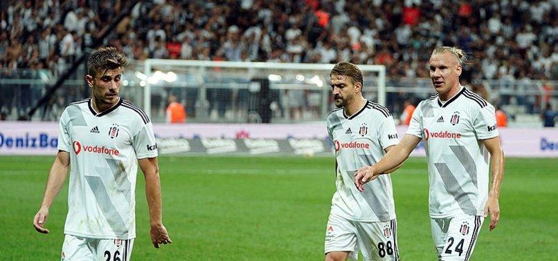 Beşiktaş'ta puan kayıpları devam ediyor