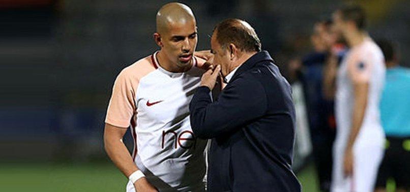 Galatasaray'da Fatih Terim'in gözü Feghouli'de! Ne zaman oynayacak?