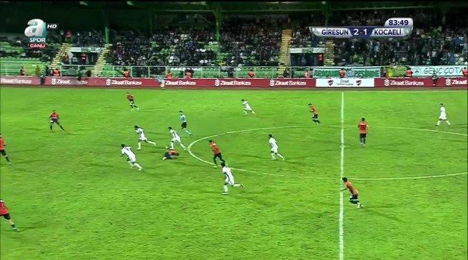 Giresunspor 2-2 Kocaelispor